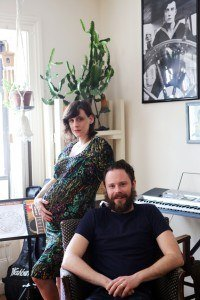 An expecting couple using hypnosis for childbirth in NYC