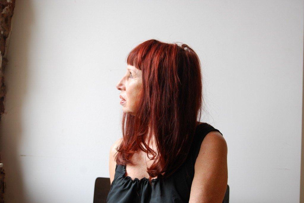 Trudy Beers hypnotist, side view portrait photo